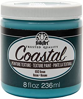 product image for FolkArt Coastal Texture Paint in Assorted Colors (8 ounce), Ocean