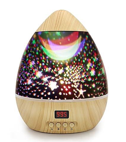 Sternenprojektor Nachtlicht Fur Kinder Kinderzimmer Baby Mit