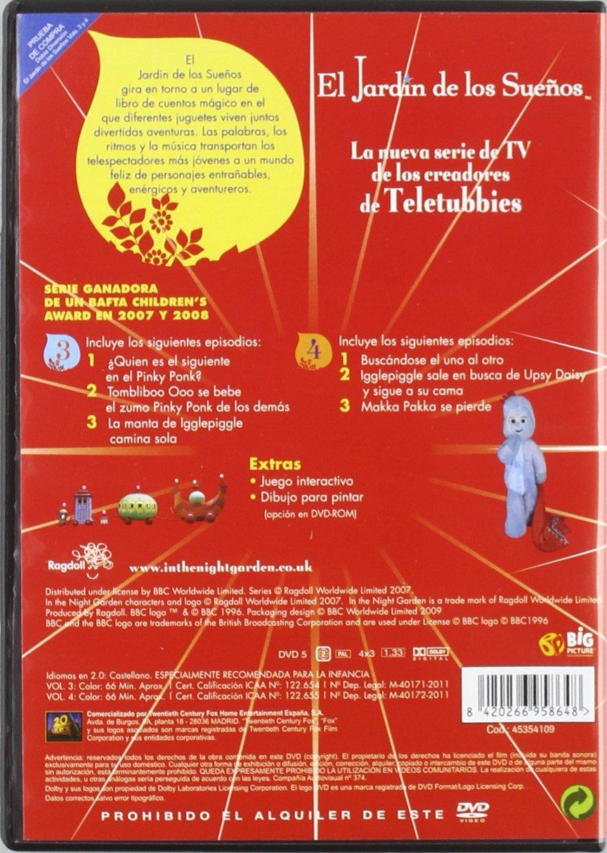 El Jardin De Los Sueños Vol 3-4 (2) [DVD]: Amazon.es: Animación, Dirk Campbell, Animación, N/A: Cine y Series TV