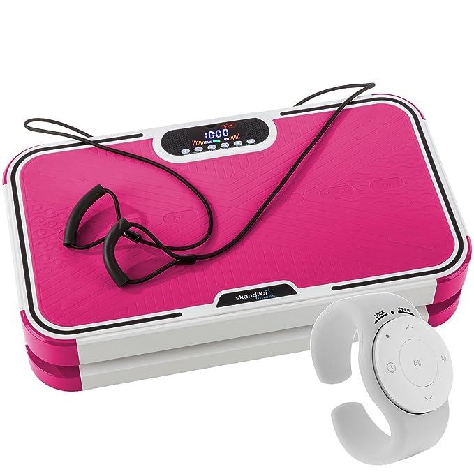Skandika 800 - Plataforma vibratoria, color Rosa: Amazon.es: Deportes y aire libre