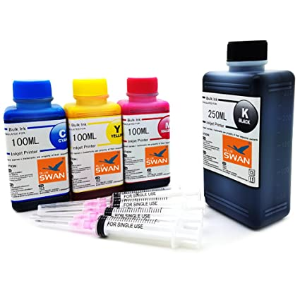 550 ml de tinta para impresoras Brother cartuchos LC 123 LC ...