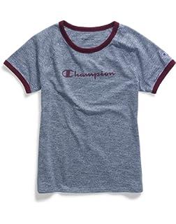 90c99324 Champion Women's Authentic Originals Triblend Varsity Short Sleeve ...