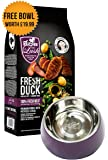 Healthy 60% Fresh Duck Kibble with 100% Fresh Meat for Puppies (2kg)