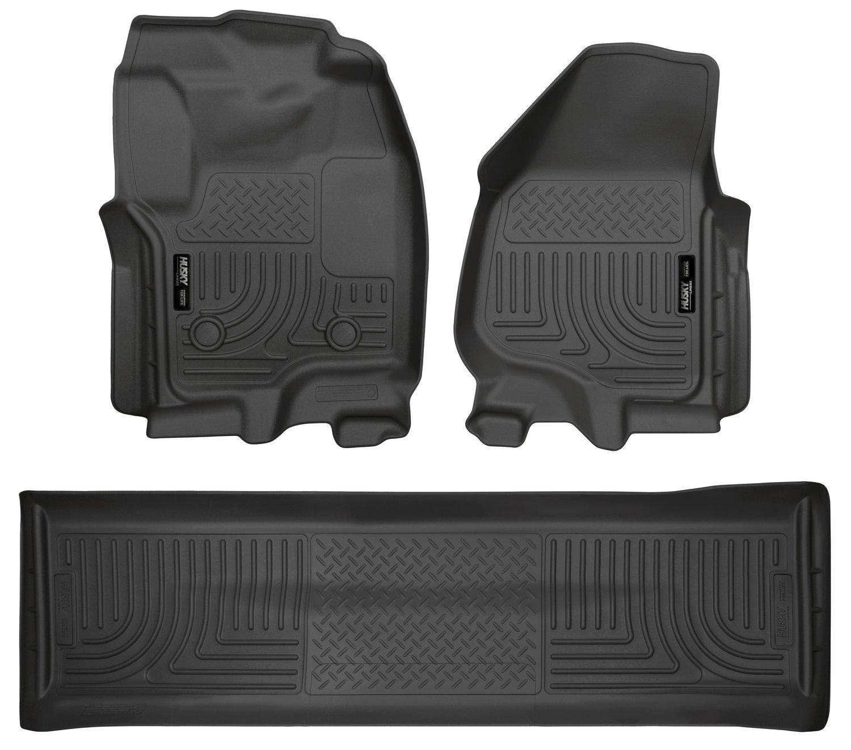 Grey Husky Liners Custom Fit Second Seat Floor Liner for