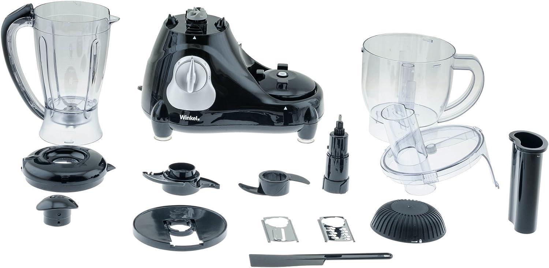 Winkel RX-6 GENIE6 RX6 Procesador de Alimentos multifunción, 600 W: Amazon.es: Hogar