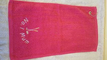 Personalizable felpa palos de golf deportes toalla con ...
