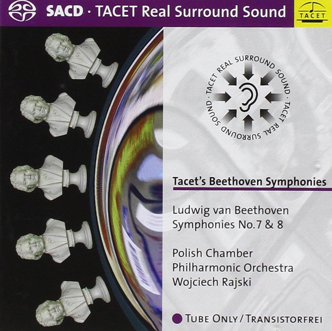 SACD : Ludwig van Beethoven - Symphonies 7 & 8 (Hybrid SACD)