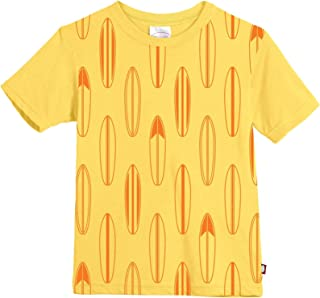 product image for City Threads Baby Boys' Surfboards All Over Short Sleeve Soft Cotton Jersey Tee 301oe-sf1-y8-a2