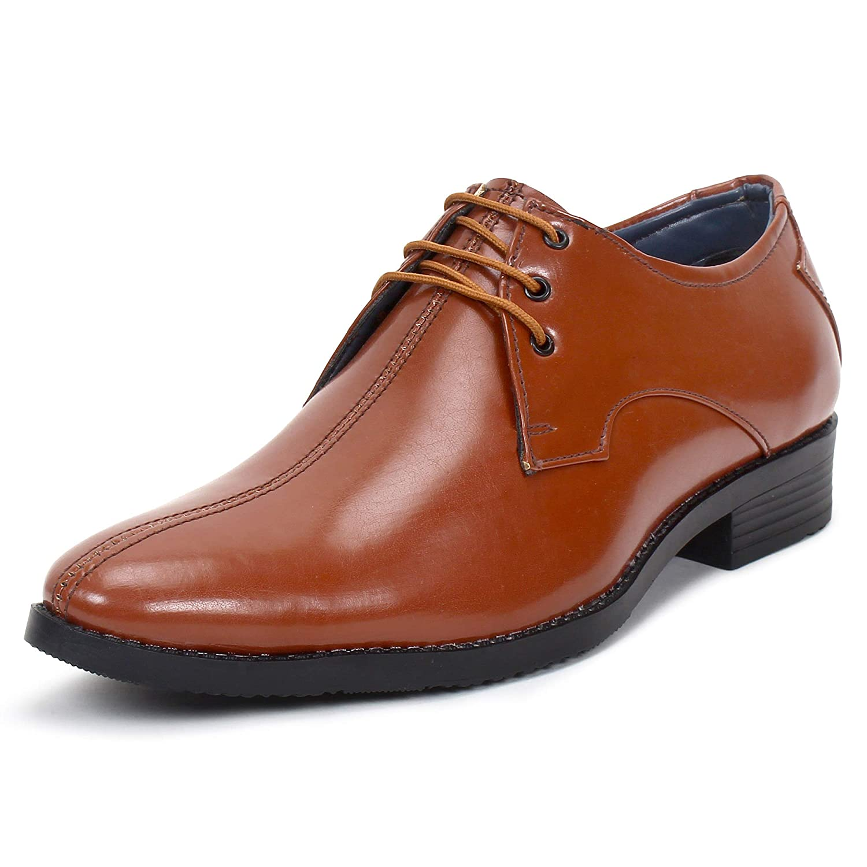 Buy BUWCH Men's Brown Formal Shoes-9 UK