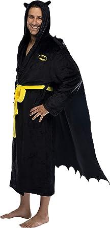 Men/'S BATMAN Fleecey ROBE