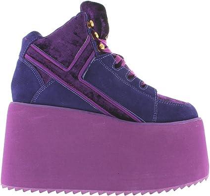 YRU 'Qozmo HI' Platform Sneakers in