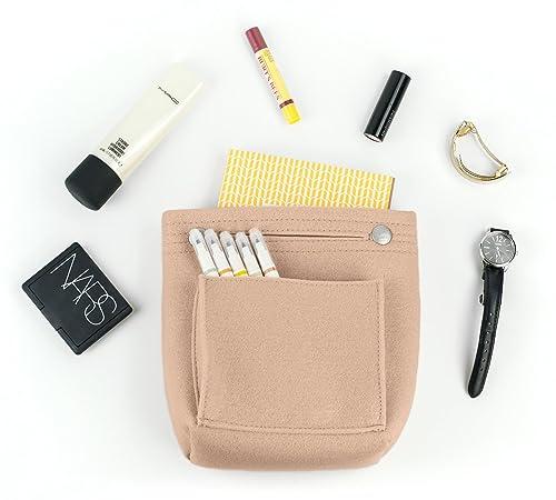 c2c05f5f1425 Vercord Felt Tote Handbag Purse Pocketbook Organizer Insert Divider Shaper  Bag in Bag