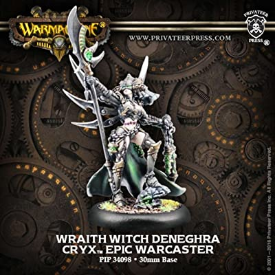 Privateer Press Cryx: Wraith Witch Deneghra Miniature Game PIP34098: Toys & Games