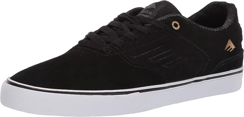 Emerica Reynolds Low Vulc Sneakers Damen Herren Unisex Schwarz/Gold/Weiß