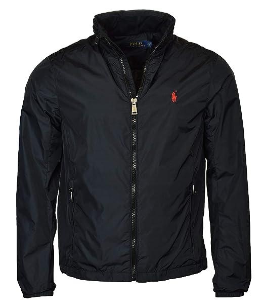 Polo Ralph Lauren Mens Nylon Hooded Windbreaker Jacket