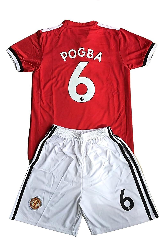 buy popular 9fdc7 e5258 kaerok 17/18 New Season Manchester United Pogba 6 Kids ...