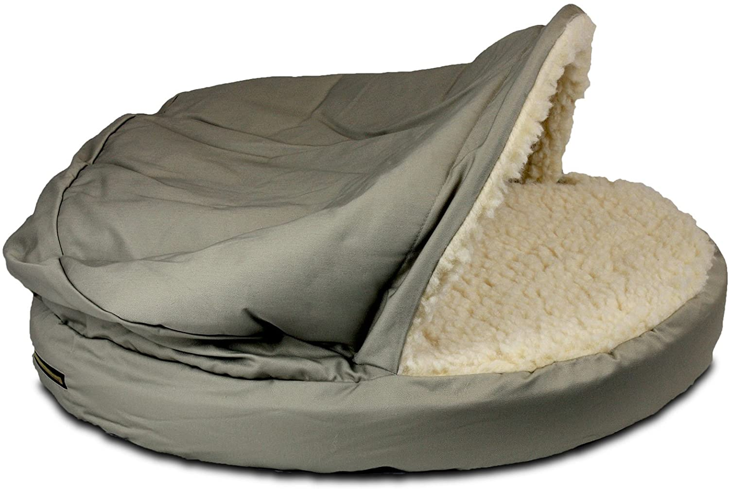 Snoozer Orthopedic Poly-Cotton Cozy Cave Pet Bed