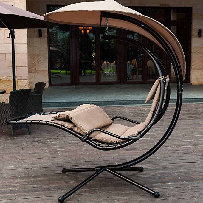 Amazon SunLife Porch Swing Patio Hanging Chaise Sling