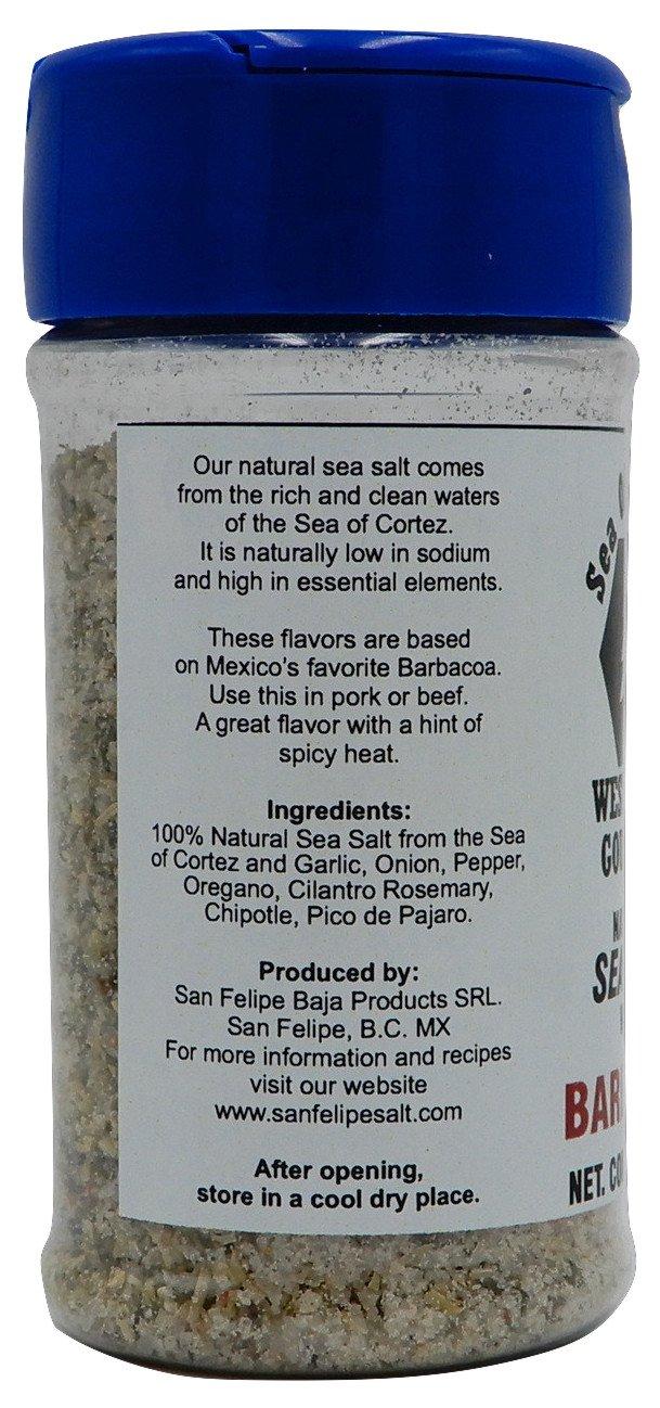 Amazon.com : Westwood Gourmet Sea Salt and Seasonings Shaker, 2.5 oz (Barbacoa) : Grocery & Gourmet Food