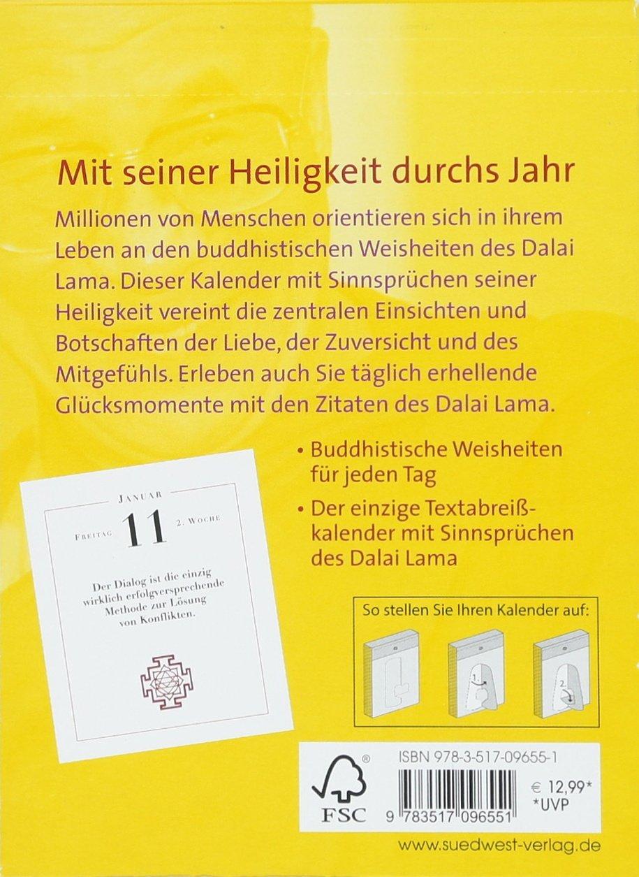 Dalai Lama Worte Der Weisheit 2019 Tagesabreißkalender