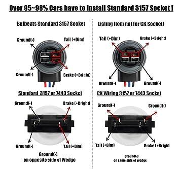 71JkvDSHy L._SX355_ amazon com bulbeats 1000 lumens 2pcs 78 bx chipsets 3056 3156 Light Socket Wiring Diagram at eliteediting.co