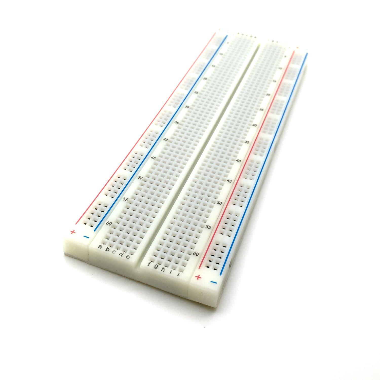 AptoFun 400 Contacts solderless breadboard Lab Experiment screening Laboratory breadboard Experiment Board for Raspberry pi//Arduino