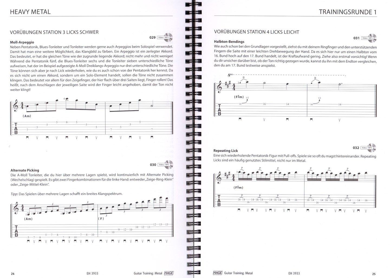 Guitar Metal - Le Programme dentraînement ultime pour la guitare électrique dentraînement avec CD, Dunlop plek (Programme denseignement/Vidéo pédagogique ...