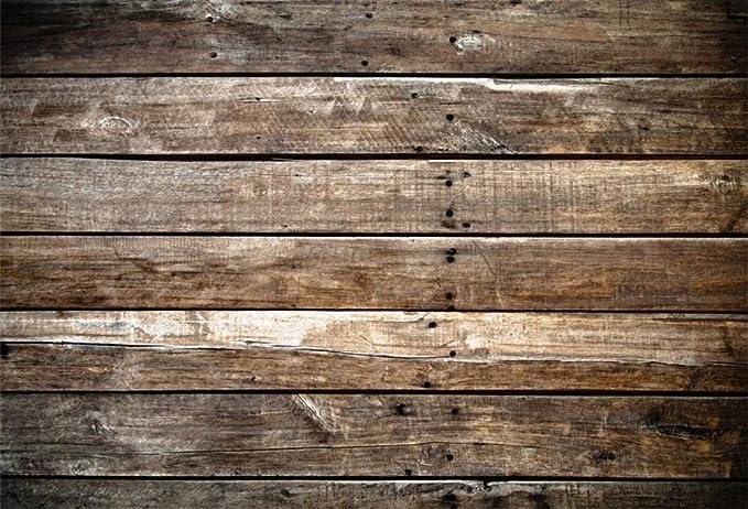 Grunge-Wood All in One Modern-Flourish Vinyl Photography  Backdrop Photo Prop