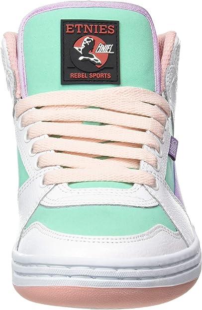 Details about  /Etnies Women/'s Mc Rap High W/'s Skate Shoe Choose SZ//color