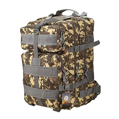 9550b0bd29 TTLIFE Zaino tattico 45L dello zaino militare esterno di sport di alta  qualità che cammina l