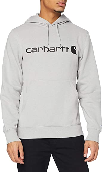 Carhartt Mens Tall Size Big /& Tall Force Delmont Signature Graphic Hooded Sweatshirt