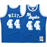 988ecd16ce9 Mitchell   Ness Los Angeles Lakers Jerry West Throwback Road Swingman Jersey  Blue