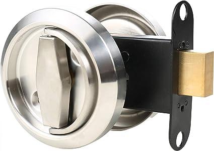 HWMATE - Pomo de puerta invisible de doble cara con anillo redondo ...