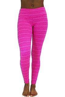 2b5990e8e6e8a 90 Degree By Reflex Fleece Lined Leggings - Yoga Pants - Magenta Cationic L