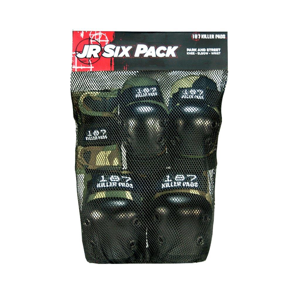 187 Killer Pads Junior Six Pack (Camo)