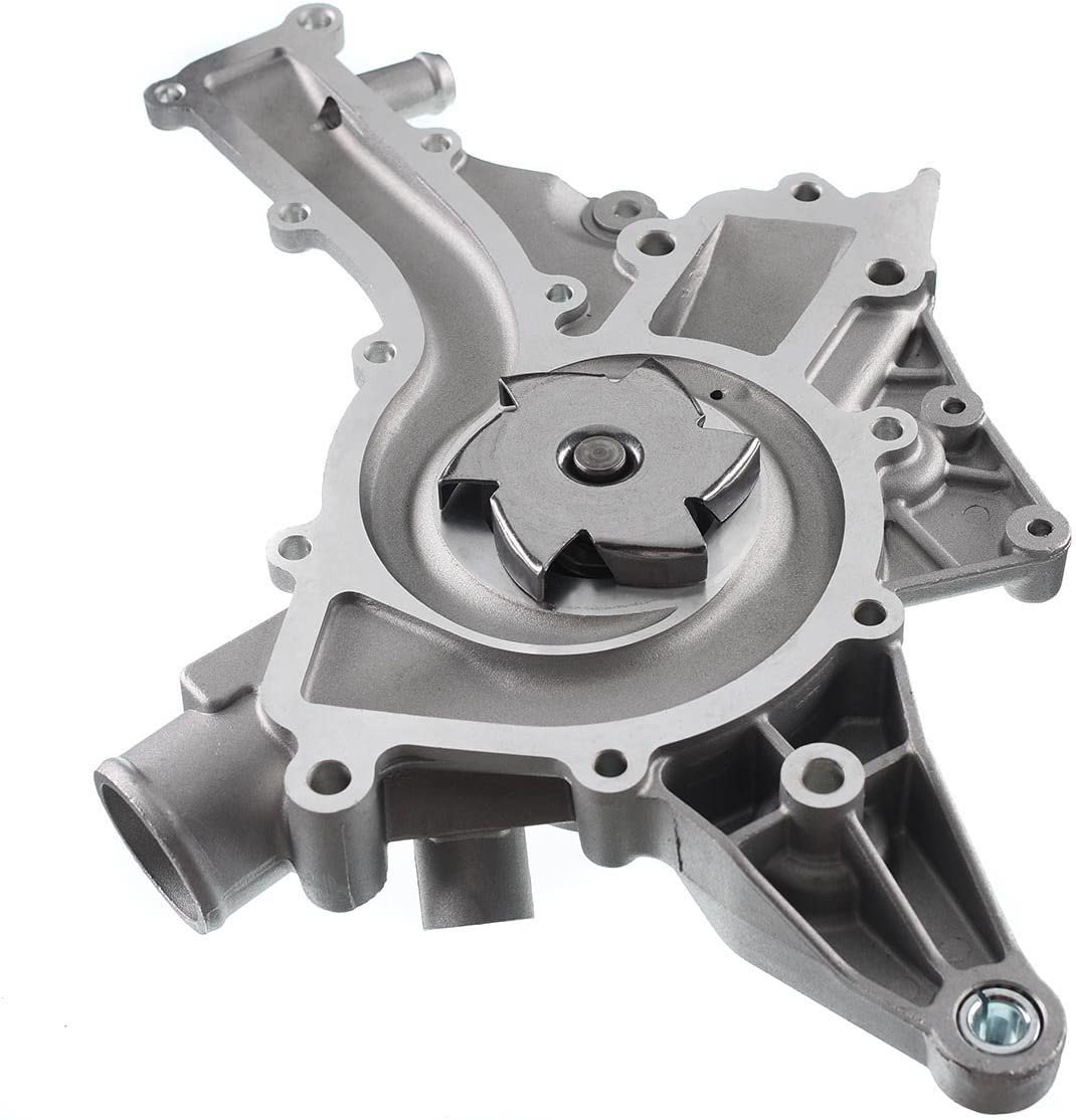 A-Premium Engine Water Pump Replacement for Mercedes-Benz C280 C55 AMG CL500 CLK320 CLK430 E320 E430 G500 ML430 ML500 S430 SLK320 W//Oil Cooler Fitting