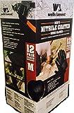 wells lamont ウェルズラモント メンズ ミディアム ニトリル コーティング ワークグローブ 安全 作業用 手袋 12セット Mサイズ