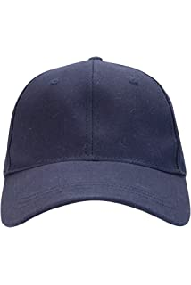 Mountain Warehouse Womens 100/% Cotton Baseball Cap with Breathable Fabric