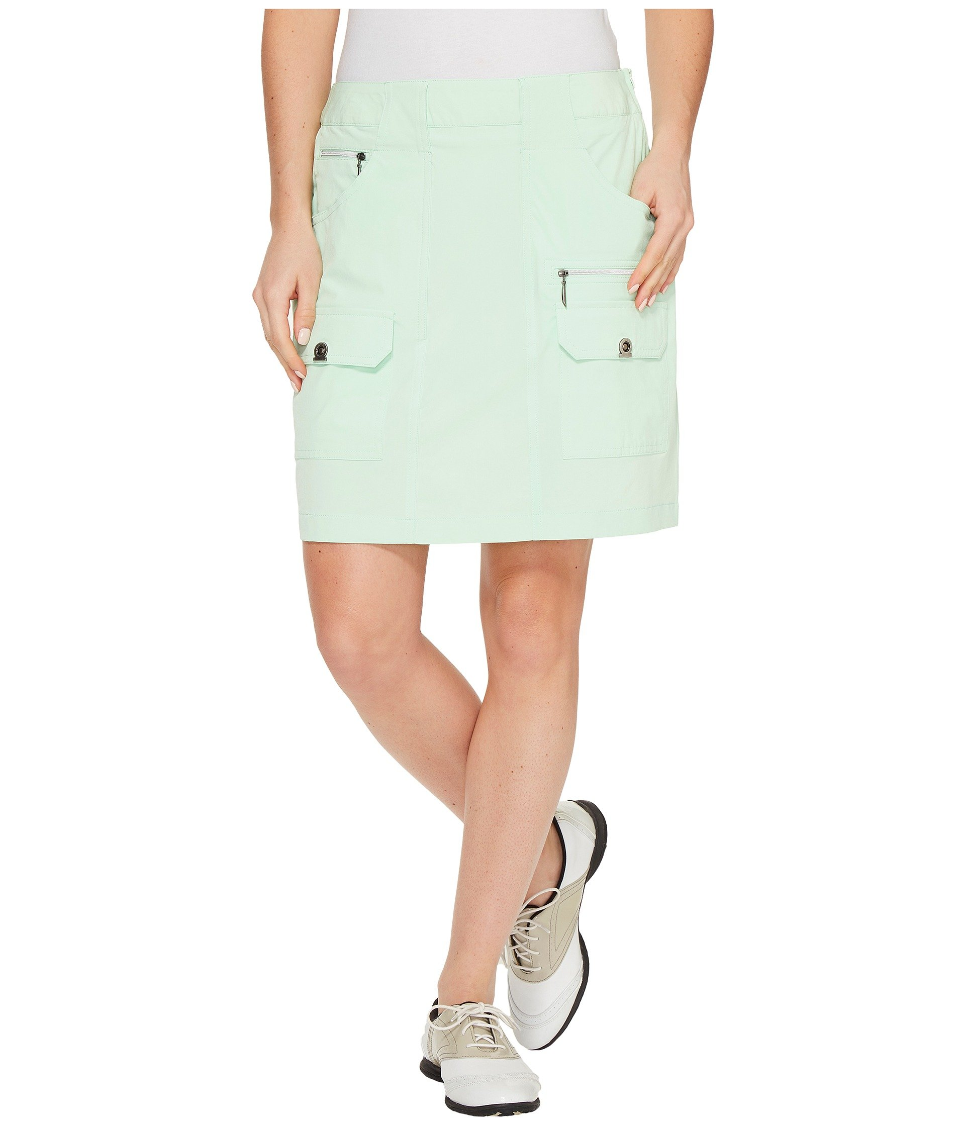Jamie Sadock Women's Airwear Light Weight 18 in. Skort Mint Julep 12 4 by Jamie Sadock (Image #1)
