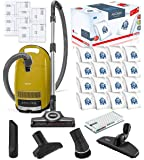 Miele Complete C3 Calima Canister HEPA Vacuum Cleaner + STB 305-3 Turbobrush Bundle - Includes Miele Performance Pack 16…