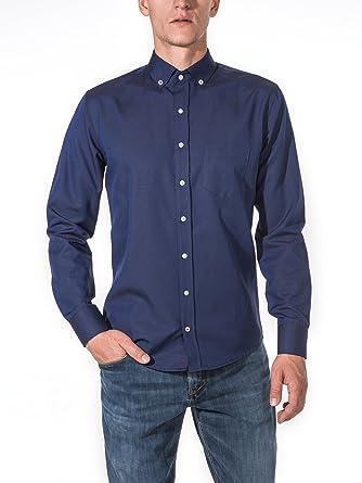new styles 5e910 260e8 Vegea Herrenhemd Slim Fit Herrenhemden mit Casual Look für Business und  Freizeit   Elegant, pflegeleicht und in Europa hergestellt   7 Farben zur  ...