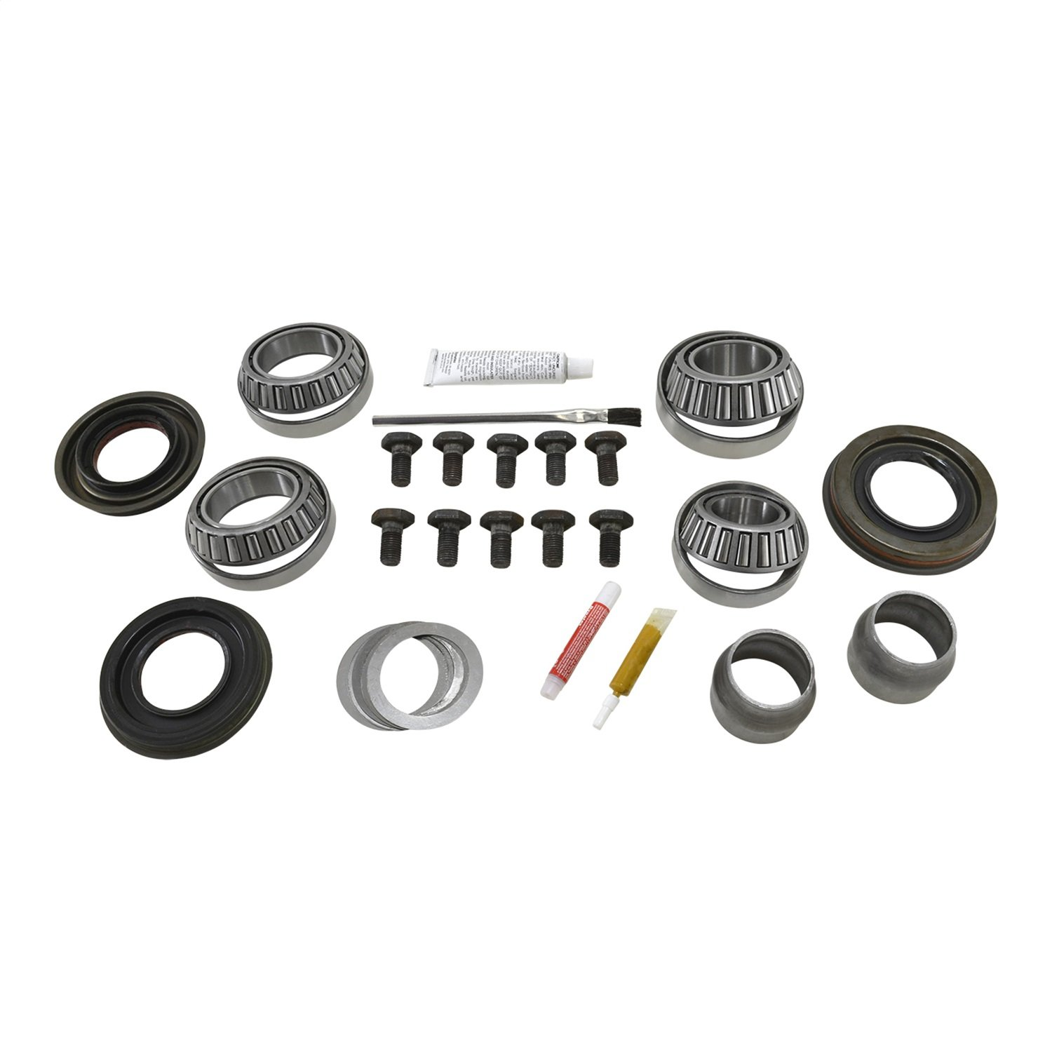 Master Overhaul Kit for Nissan Titan Front Differential YK NM205 Yukon Gear /& Axle