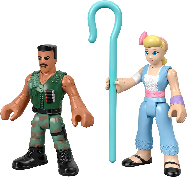 Mattel Imaginext Disney Toy Story 4 Pack de 2 Figuras Bo Peep y ...