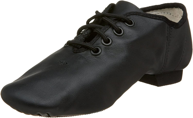 Jazz Modern Dance Shoes Leather Black