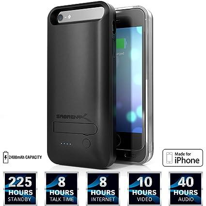 Amazon.com: Sabrent 2400 mAh batería MFI Certificado por ...