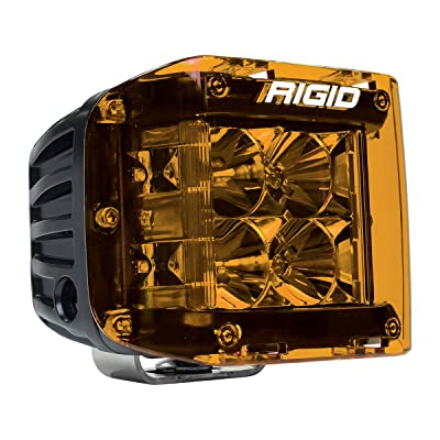 Rigid Industries 32183 D-Ss Series Light Cover, Amber: Automotive
