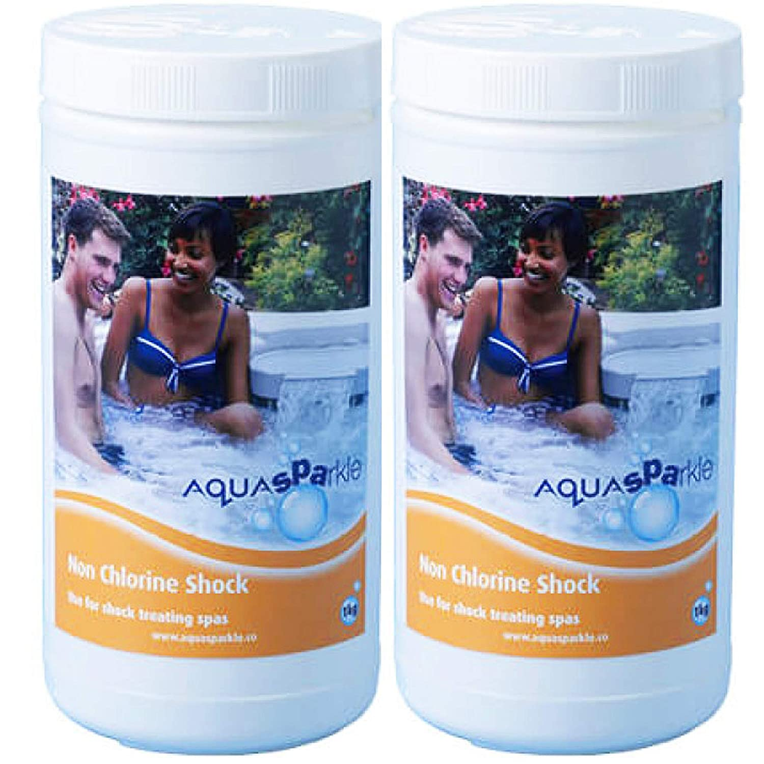 AQUASPARKLE 2KG Quality Non Chlorine Shock Spas Hot Tubs Pool FOR CHLORINE AND BROMINE USERS CPC