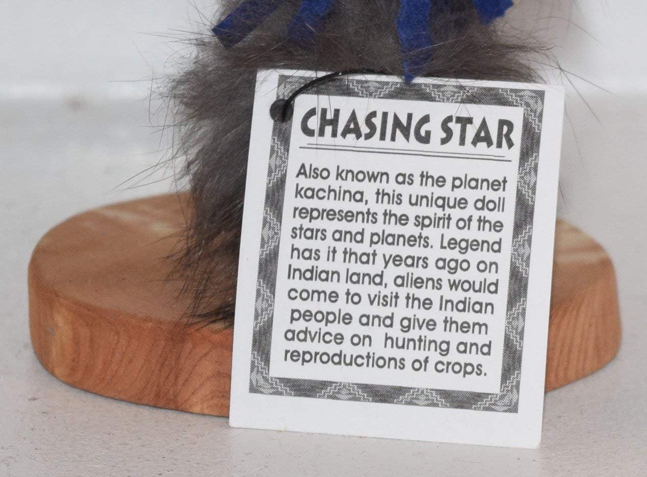 9 INCH Chasing Star Kachina