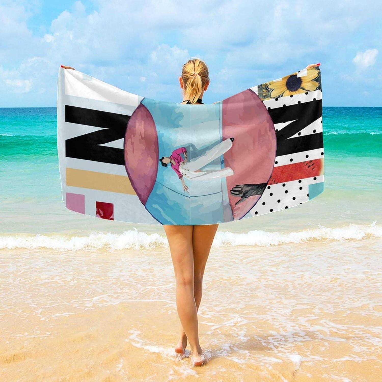 Bath Towels Harry Styles Fine Line Bath Sheet Premium Swimming Towels Extra Large Bathing Towel Women Men Spa Blanket Shower Towels 32 X 64 in