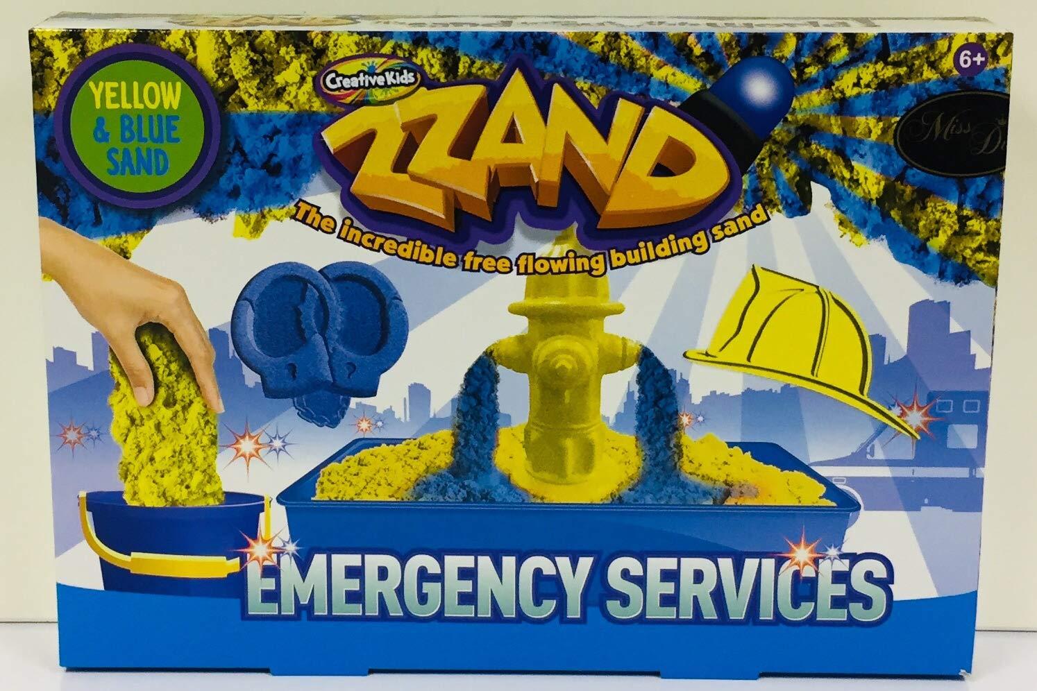 Crown Crest Zzand Emergency Services Sand Art Playset